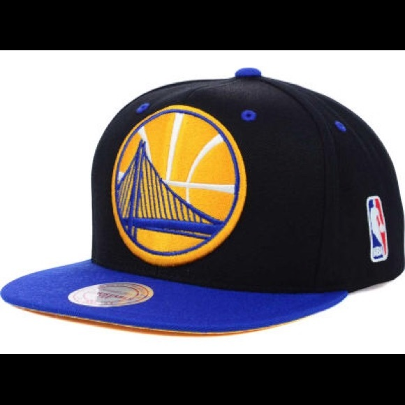 Authentic Golden State Warriors SnapBack Cap fa7a2eac537